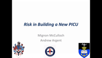 Risk in building a new PICU...