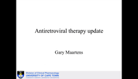 Antiretroviral therapy update...