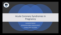 Acute coronary syndrome in pre...