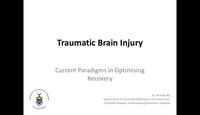 Traumatic brain injury...