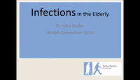 Infections in the elderly...