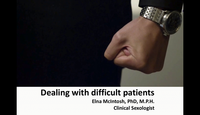 Dealing with difficult patient...
