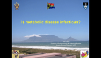 Is metabolic disease infectiou...