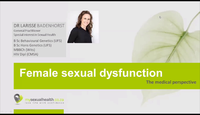 Female sexual dysfunction - th...