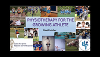 Physiotherapy for the growing ...