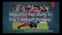 Shoulder instability in the co...