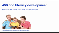 ADS and literacy development: ...