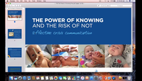 The power of knowing and risks of not...