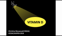 Vit D in the spotlight...