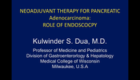 Neoadjuvant therapy for pancre...