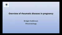 Overview of rheumatic diseases...
