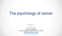 The psychology of the cancer p...