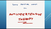 Applied antihypertensive thera...