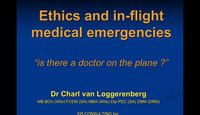 Ethics and in flight medical e...