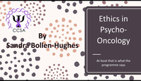 The ethics of psycho-oncology...