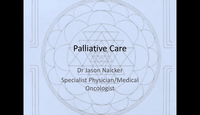 An apporach to palliative canc...